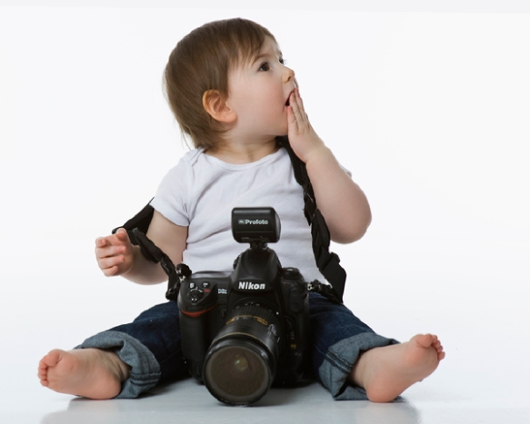 The newest photographer in training
